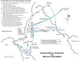 Old Testament Timeline Chart Old Testament Geographical Historical Summary Extra Maps