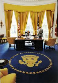Office drapes Executive Gerald Ford Designboom The Oval Office Curtains Look Through History Gp Drapery