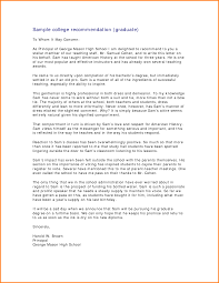 Sample School Recommendation Letter Graduate School Recommendation Letter For Colleague 2