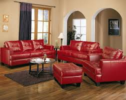 Best Red Leather Couches Ideas On Pinterest - Leather livingroom