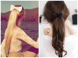 Bows In Hair Style the cutest ways to wear a bow hair world magazine 8724 by wearticles.com
