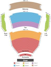 Oxnard Performing Arts Center Seating Chart Hamilton Tickets At Tennessee Performing Arts Center