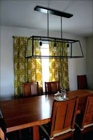 size of chandelier for dining table full room lighting kitchen ceiling correct