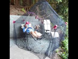 diy outdoor mosquito net shelter