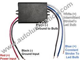 led flashing brake light braker module installtion instructions 5 Wire 4 Led Strobe Light Diagram led strobe module 4 Round LED Lights