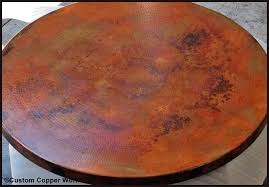 60 inch round table top round table top wood inch round copper table top round table