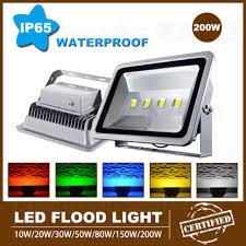 led floodlight 200w refletor led flood light ac 110v 240v cold outdoor path lighting coldwarm white