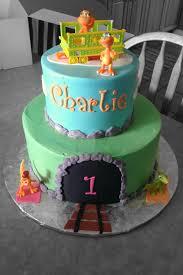 Dinosaur Train 1st Birthday Cake Yelp