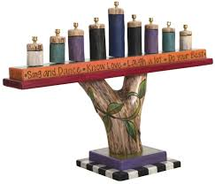 Artful Home Artist Made Menorahs Artful Home