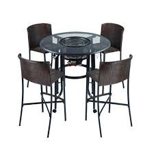 42 inch patio bar set with grilling table by afire 2200 00 42