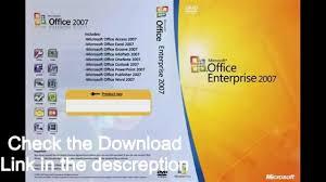 Microsoft Office Word 2007 Enterprise With Serial Keys Free