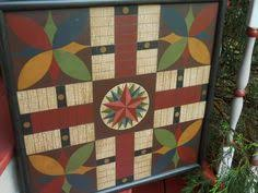 Antique Wooden Game Boards 100 Parcheesi Game Board Wood Game Boards Wooden Folk Art 58