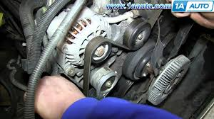 how to install replace serpentine belt tensioner vortec 5 7l chevy how to install replace serpentine belt tensioner vortec 5 7l chevy tahoe gmc yukon suburban