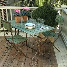 fantastic outdoor high end patio table and chairs expanded metal