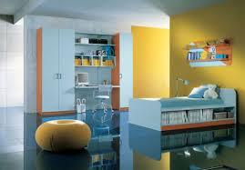 brilliant joyful children bedroom furniture. Elegant Kids Bedroom Design With Yellow And Blue Theme Brilliant Joyful Children Furniture