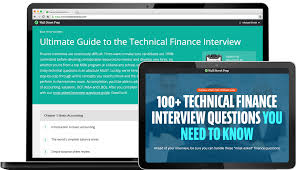 Technical Finance Interview Questions And Finance Interview Guide