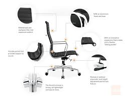 eames office chair replica. Eames Office Chair Replica | Ribbed Management H