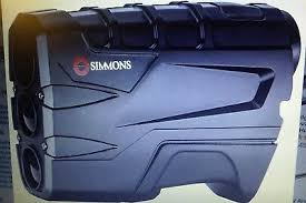 simmons vertical volt 600. simmons volt 600 vertical laser rangefinder shooting hunting golf bright optics