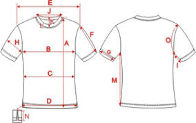 Ladies_short_sleeve_crew_neck_t Shirt_size_chart