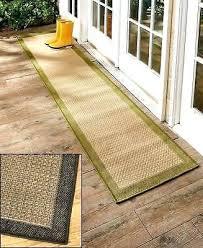 indoor outdoor runner rugs 1 of 3 indoor outdoor extra long border floor runner rug sage
