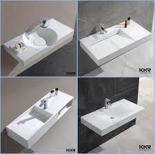 kkr porcelain european bathroom sinks solid surface stone washbasin