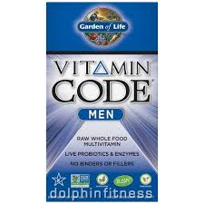 Garden of Life <b>Vitamin Code Men</b> (<b>240</b> Capsules)