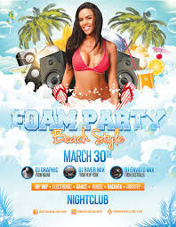 Foam Party - Beach Style - Flyer Template By Louistwelve-Design On ...