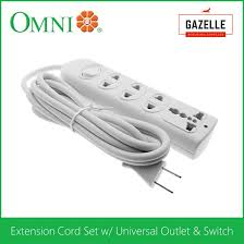 omni omni electrical equipment for prices omni extension cord set w universal outlet and switch wer 103
