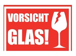 Dhl aufkleber vorsicht zerbrechlich teil von aufkleber zerbrechlich ausdrucken. 10 1000 X Sticker Caution Glass Alternative Caution Glass Tape Ebay
