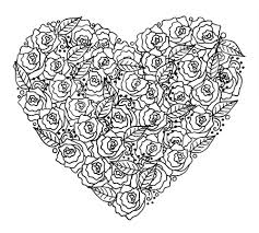 Flower Page Printable Coloring Sheets To Print Of Pages Roses