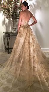 best 25 gold wedding dresses ideas