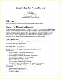 Download Executive Secretary Resume Haadyaooverbayresort Com