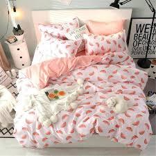 girly bedding sets home textile single twin queen girls teen bedding set watermelon pink white duvet