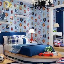 Imperial Home Decor Group Wallpaper Aliexpresscom Buy Modern Children Football Wallpaper For Walls