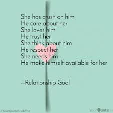 She Has Crush On Him He C Quotes Writings By Vishal Mishra