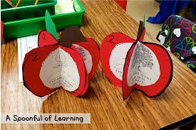 Apple Tree Pocket Chart A Spoonful Of Learning Apple Week
