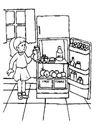 Kleurplaat Keuken En Koken Animaatjesnl
