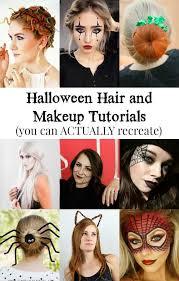 50 halloween hair and makeup tutorials