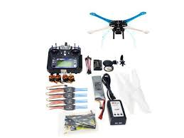 <b>500mm Multi-Rotor Air Frame</b> Full Kit S500-PCB DIY GPS Drone ...