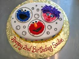 Sesame Street Birthday Cakes Hands On Design Cakes