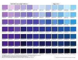 Pantone Color Chart Blue Pantone Color Bridge Plus And Cmyk Cheat Sheets For Graphic