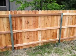 Living Privacy Fence Steel Posts Postmaster With Cedar Privacy Fence Back Side A