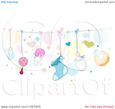 Baby Things Clipart Baby Girl Things Clipart Image 20
