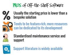 APPLICATION SOFTWARE  Application Programs Unlike the operating     advantages software disadvantages written custom