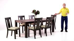 Bobs Furniture Kitchen Sets Summit Dining Table Set Bobs Discount Furniture Youtube