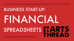 Profit Spreadsheets Arts Thread Business Start Up Financial Spreadsheets