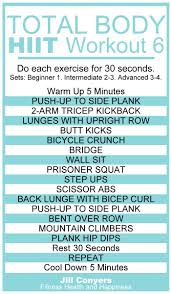total body no excuses hiit workout 6 jill conyers