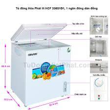 Tủ đông Hòa Phát HCF 336S1Đ1 162 Lít Dàn đồng Tủ Mini 1 Ngăn 🛑 Giá Mới  Nhất Tại Đà Nẵng