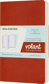 <b>Блокнот Moleskine Volant</b>, QP711F16B24, оранжевый, голубой ...