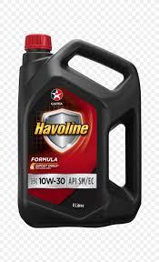 Car 10w30 5 Qt Havoline Oil Motor Oil Formula Sae Png